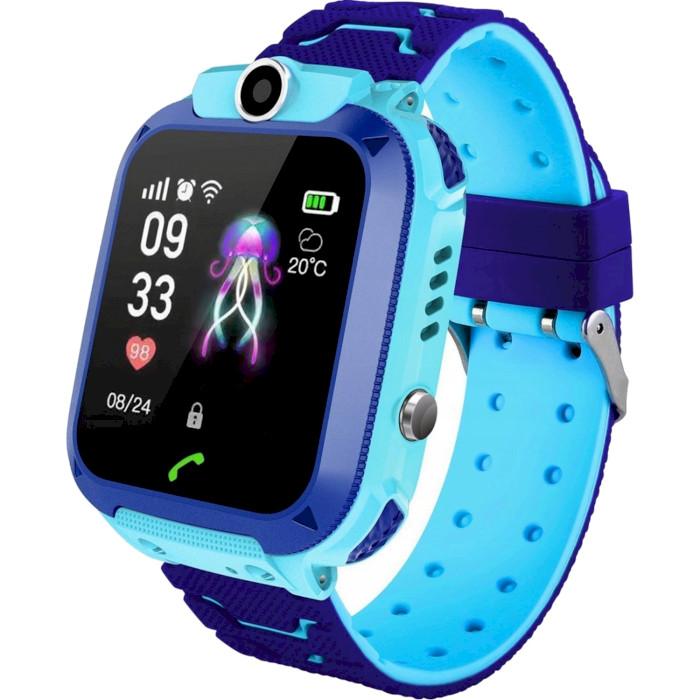 Смарт-часы GOGPS ME K16S Blue (K16SBL)