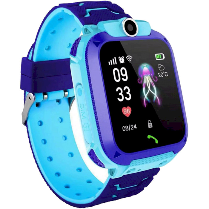 Смарт-часы GOGPS ME K16S Blue (K16SBL) Функциональность детские