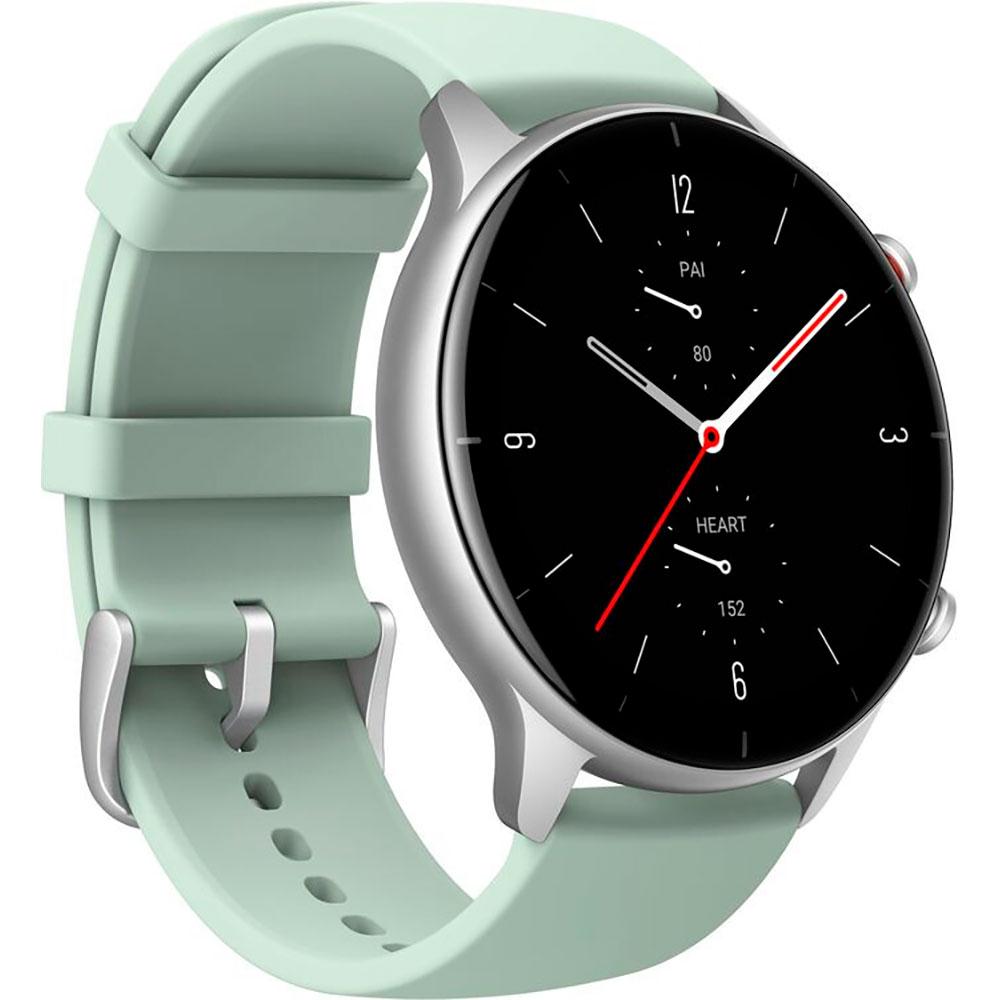 Смарт-часы Amazfit GTR 2e Matcha Green Функциональность для взрослых