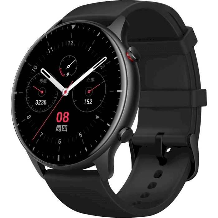 Смарт-часы Amazfit GTR2 Obsidian Black (Sport Edition) Функциональность для взрослых