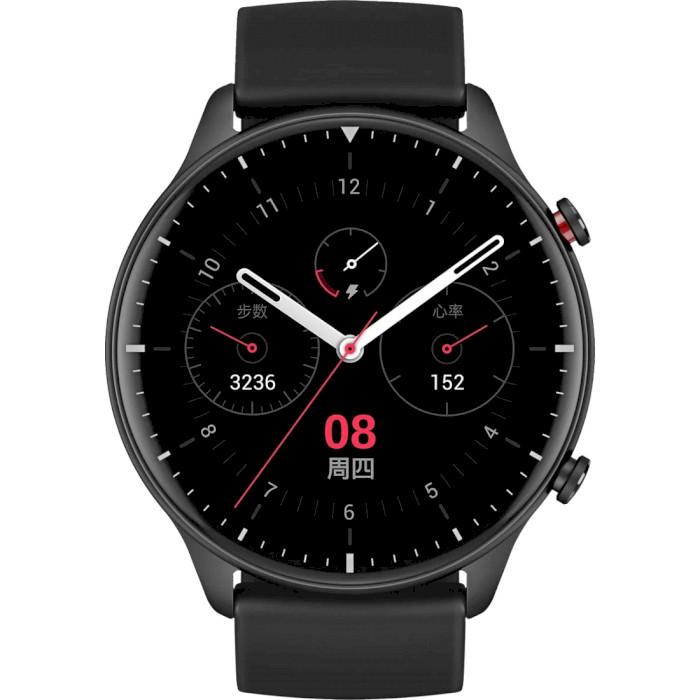 Смарт-часы Amazfit GTR2 Obsidian Black (Sport Edition) Операционная система Amazfit OS