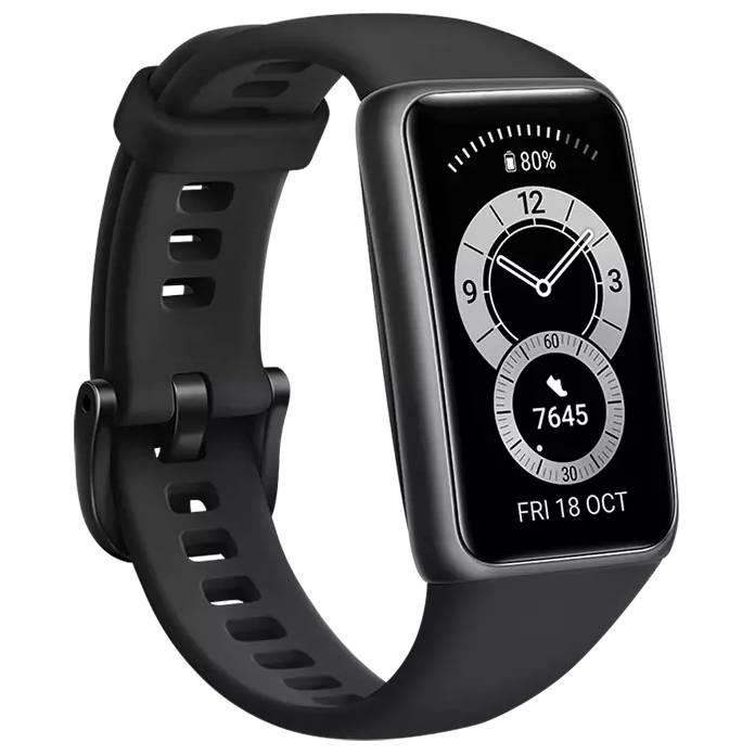 Смарт-часы HUAWEI Band 6 Graphite Black Совместимость Android OS