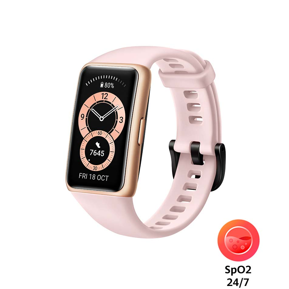 Смарт-часы HUAWEI Band 6 Sakura Pink Функциональность для взрослых