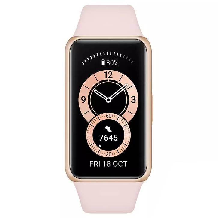 Смарт-часы HUAWEI Band 6 Sakura Pink Операционная система другая