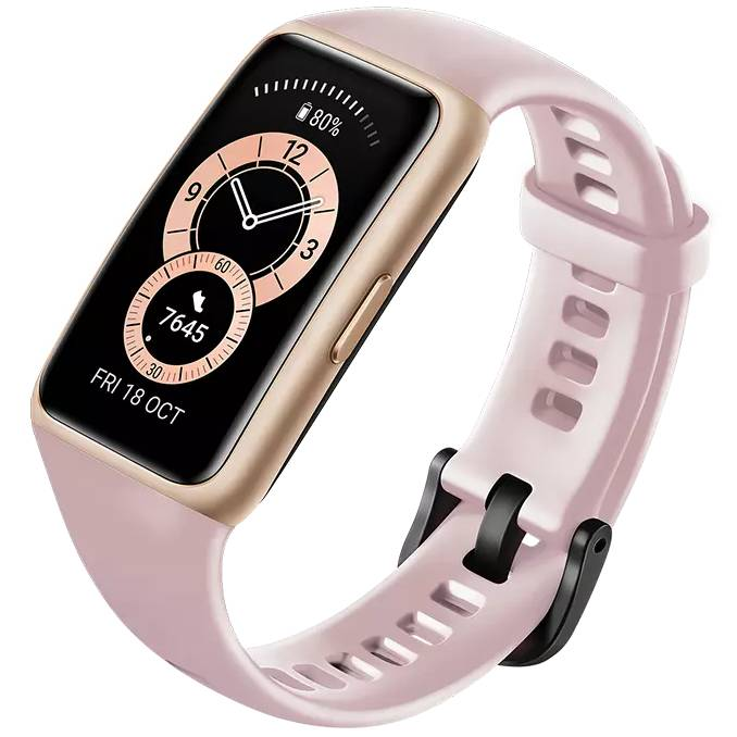 Смарт-часы HUAWEI Band 6 Sakura Pink Совместимость Android OS