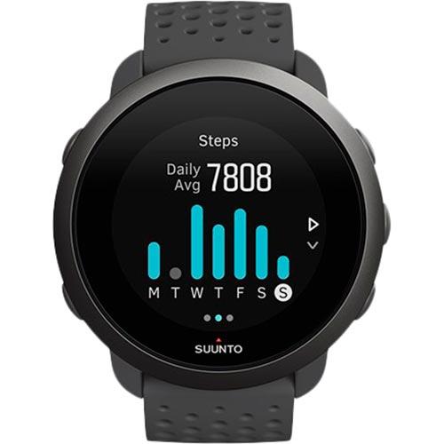 Смарт-часы SUUNTO 3 SLATE GREY (SS050414000) Функциональность для взрослых