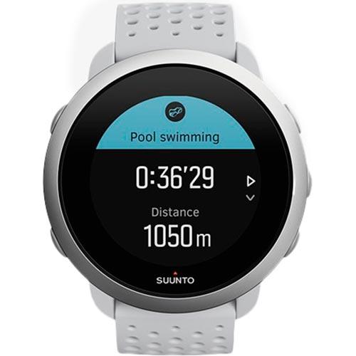 Смарт-часы SUUNTO 3 PEBBLE WHITE (SS050416000) Функциональность для взрослых