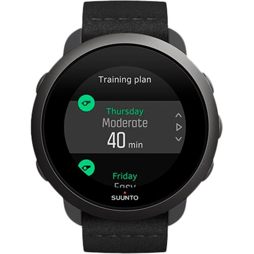 Смарт-годинник SUUNTO 3 ALL BLACK (SS050617000) Функціональність для дорослих