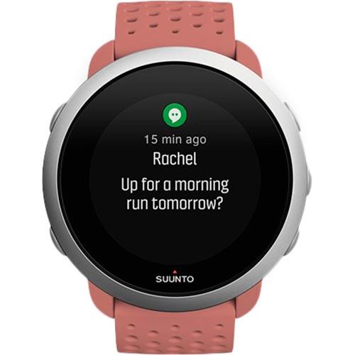 Смарт-часы SUUNTO 3 GRANITE RED (SS050475000) Функциональность для взрослых