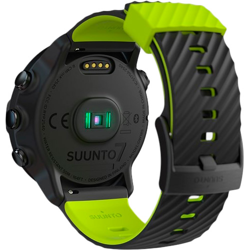 Смарт-годинник SUUNTO 7 BLACK LIME Операційна система Android Wear