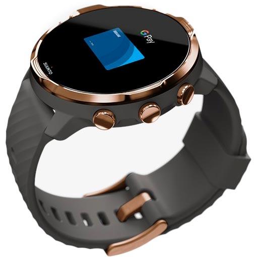 Смарт-часы SUUNTO 7 GRAPHITE COPPER (SS050382000) Совместимость Android OS