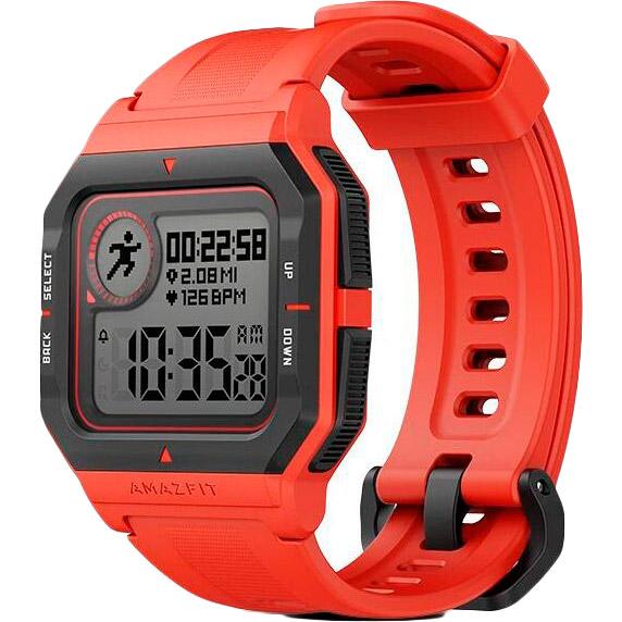 Смарт-часы AMAZFIT Neo Smart watch Red