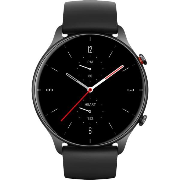 Смарт-часы AMAZFIT GTR 2e Obsidian black Функциональность для взрослых