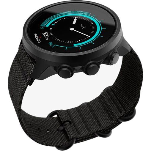 Смарт-годинник SUUNTO 9 BARO CHARCOAL BLACK TITANIUM (SS050564000) Сумісність Android OS