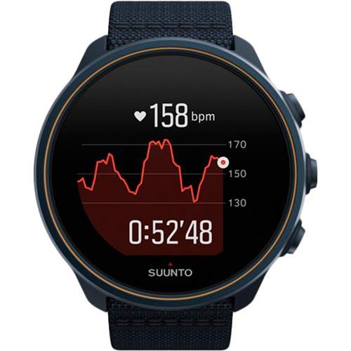 Смарт-часы SUUNTO 9 BARO GRANITE BLUE TITANIUM (SS050565000) Функциональность для взрослых