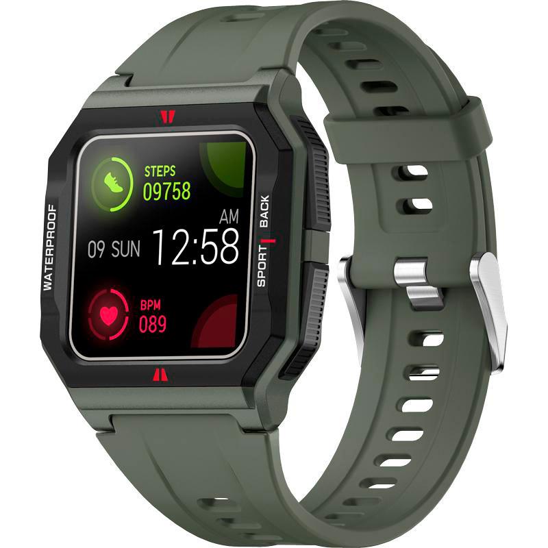 Смарт-часы GELIUS Pro GP-SW006 (Old School) Green Функциональность для взрослых