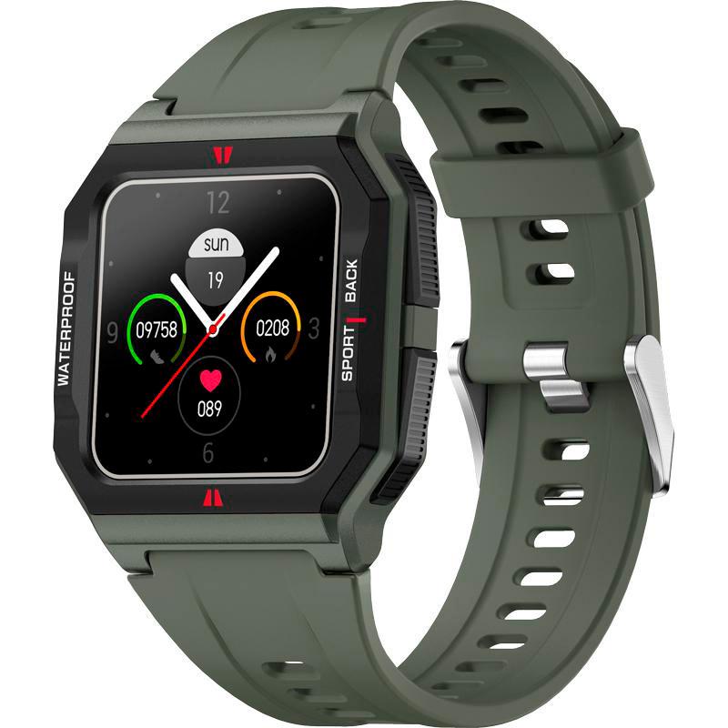 Смарт-часы GELIUS Pro GP-SW006 (Old School) Green Операционная система другая