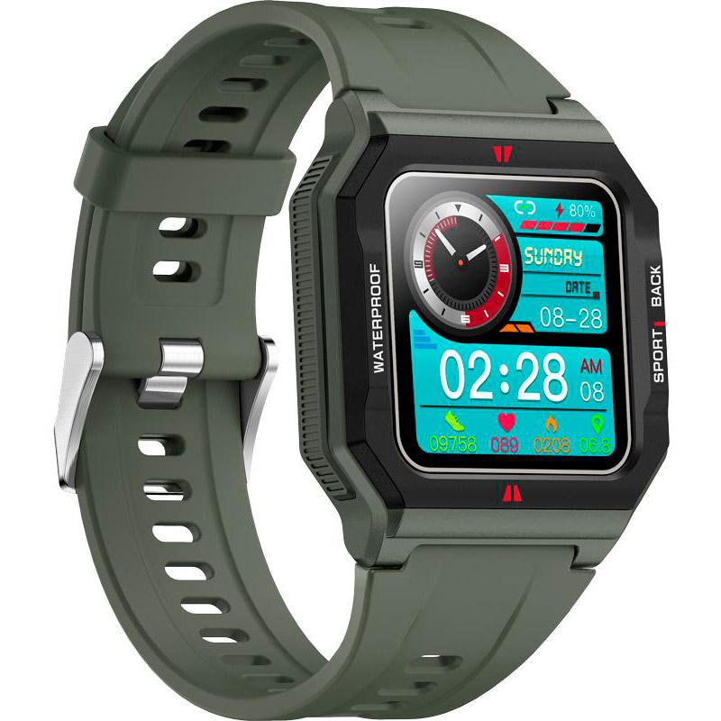 Смарт-часы GELIUS Pro GP-SW006 (Old School) Green Совместимость Android OS