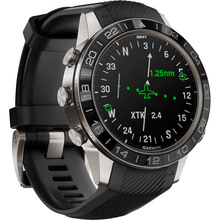 Смарт-часы GARMIN Aviator Black Silicone (010-02567-11)