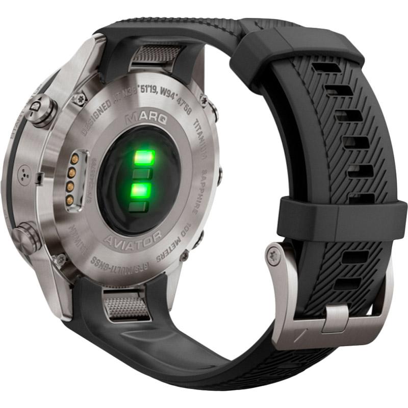Смарт-часы GARMIN Aviator Black Silicone (010-02567-11) Совместимость Android OS
