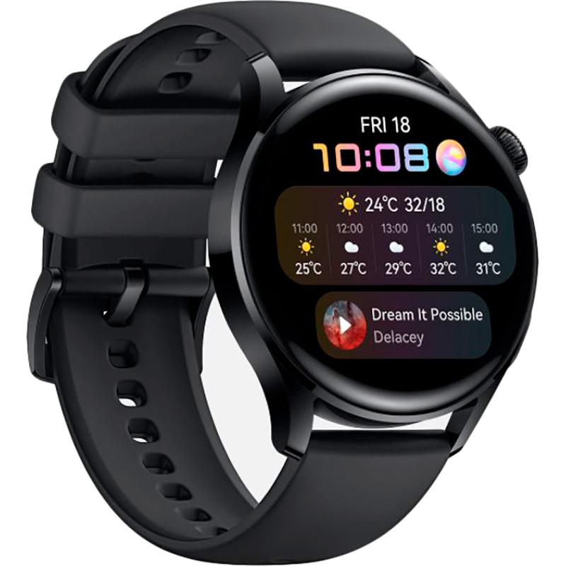 Смарт-годинник HUAWEI Watch 3 Black (55026820) Операційна система інша