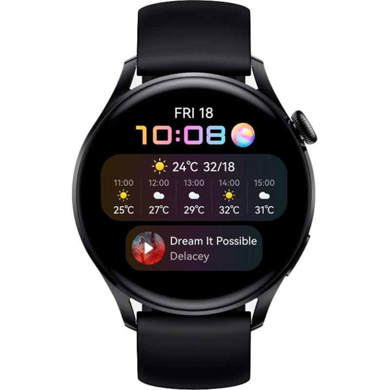 Смарт-годинник HUAWEI Watch 3 Black (55026820) Сумісність Android OS
