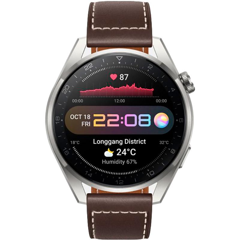 Смарт-годинник HUAWEI Watch 3 Pro Classic Titanium (55026781) Сумісність Android OS