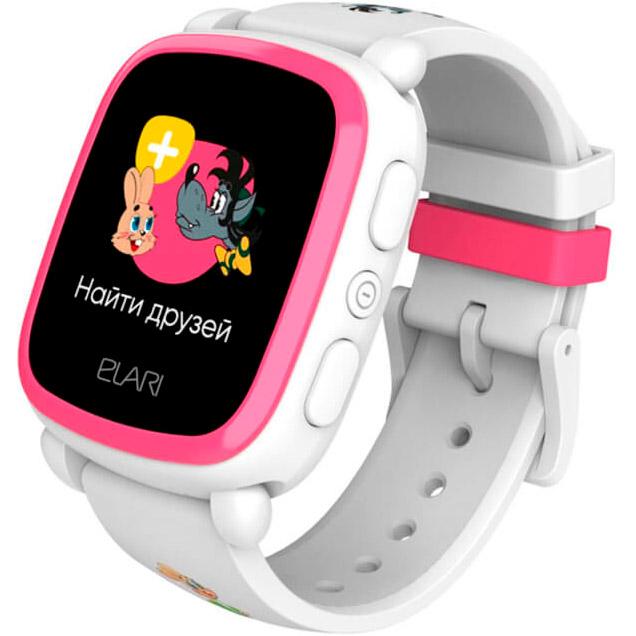 Смарт-годинник ELARI KidPhone NyPogodi White (KP-NP-WP)