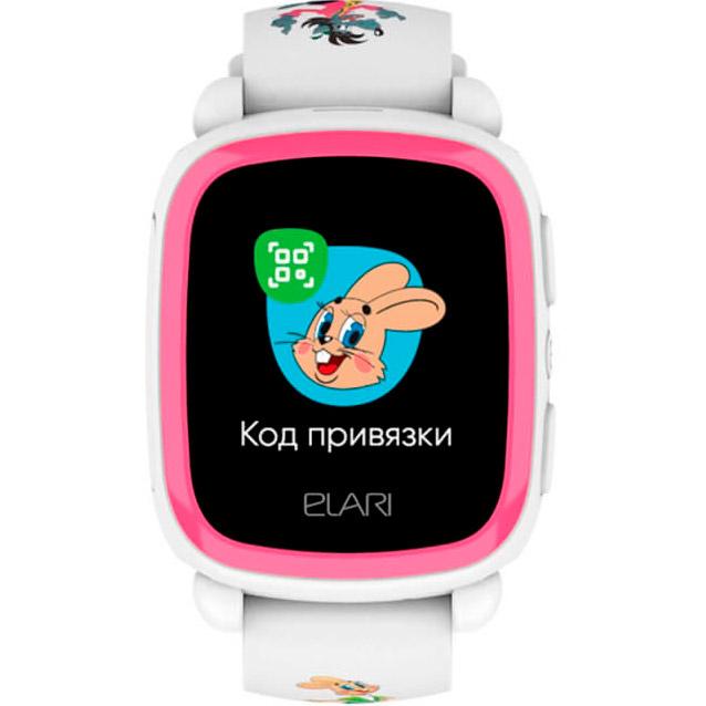 Смарт-годинник ELARI KidPhone NyPogodi White (KP-NP-WP) Функціональність дитячі