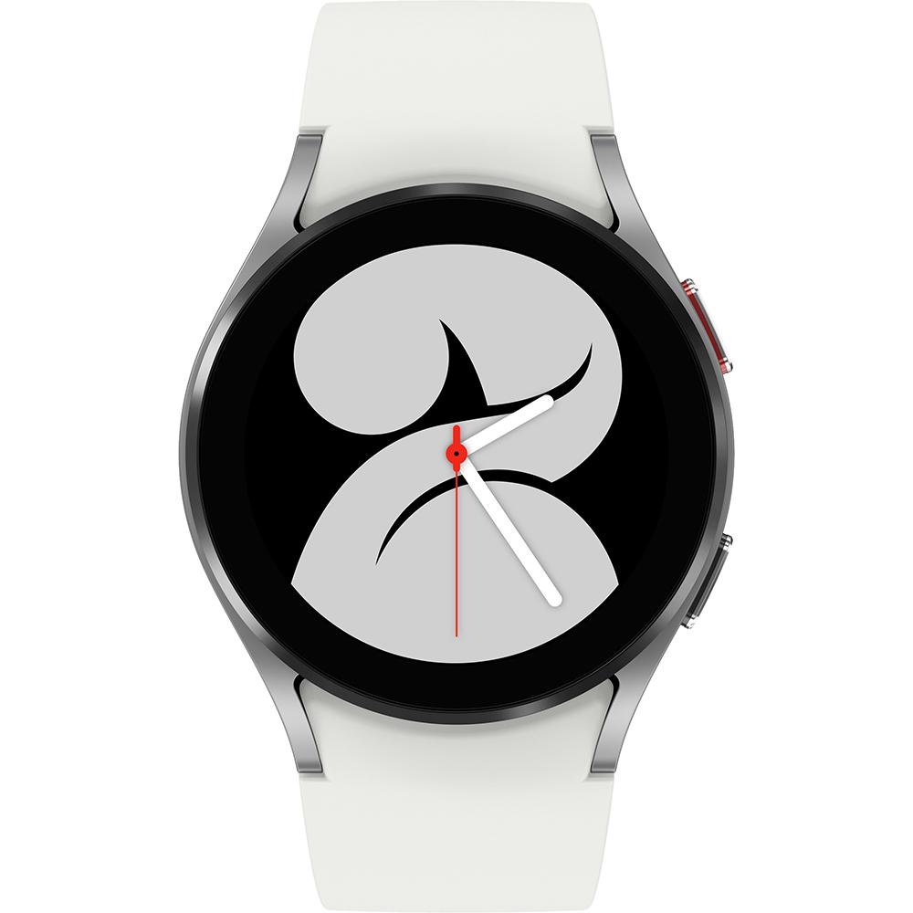 Смарт-часы SAMSUNG Galaxy Watch 4 small 40mm Silver (SM-R860NZSASEK) Дизайн современный (спортивный)