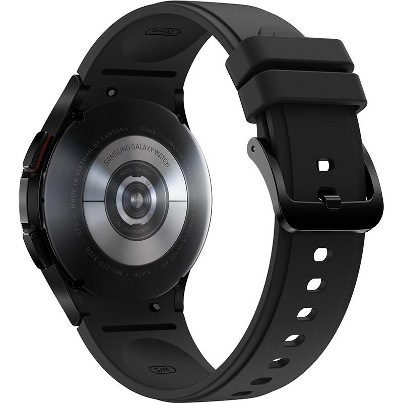 Смарт-годинник SAMSUNG Galaxy Watch 4 Classic 42mm Black (SM-R880NZKASEK) Сумісність iOS (Apple)