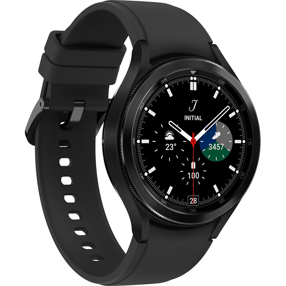 Смарт-часы SAMSUNG Galaxy Watch 4 Classic 46 мм eSIM Black (SM-R895ZKASEK) Совместимость Android OS