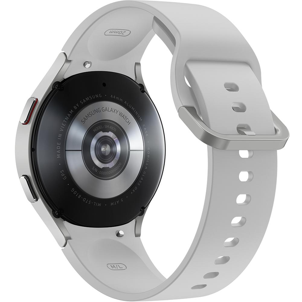 Смарт-часы SAMSUNG Galaxy Watch 4 44mm Silver (SM-R870NZSASEK) Совместимость iOS (Apple)