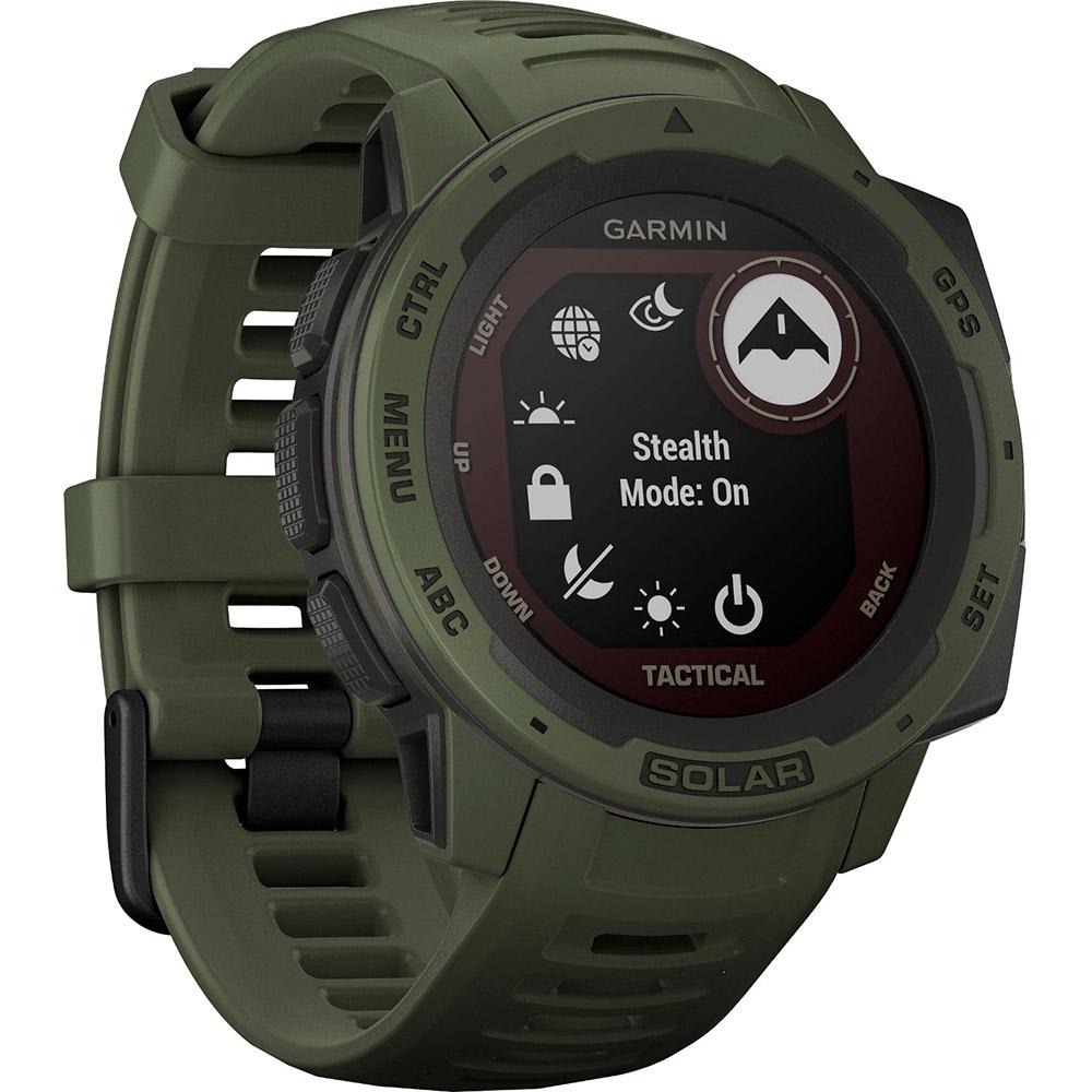 Смарт-годинник GARMIN Instinct Solar Tactical Edition Moss (010-02293-04) Операційна система інша