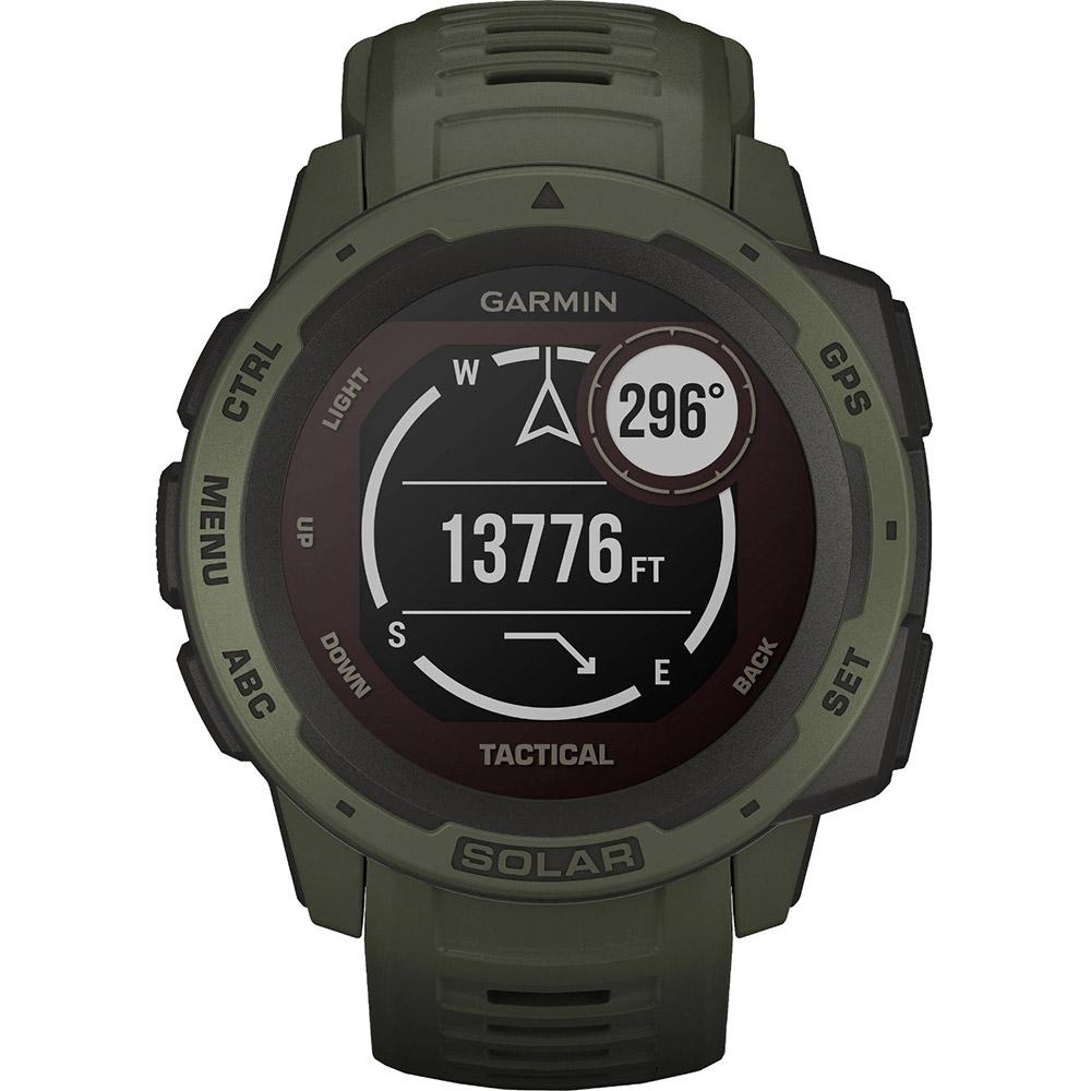 Смарт-годинник GARMIN Instinct Solar Tactical Edition Moss (010-02293-04) Функціональність для дорослих