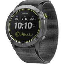 Смарт-часы GARMIN Enduro Steel with Gray UltraFit Nylon Strap (010-02408-00)
