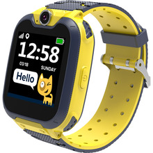 Смарт-часы CANYON Tony KW-31 Yellow/Gray(CNE-KW31YB)