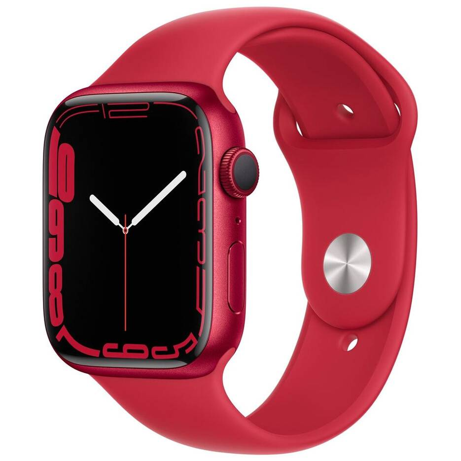 Смарт-годинник APPLE Watch S7 GPS 41 Product Red