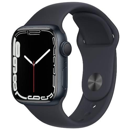 Смарт-годинник APPLE Watch S7 GPS 41 Midnight grey
