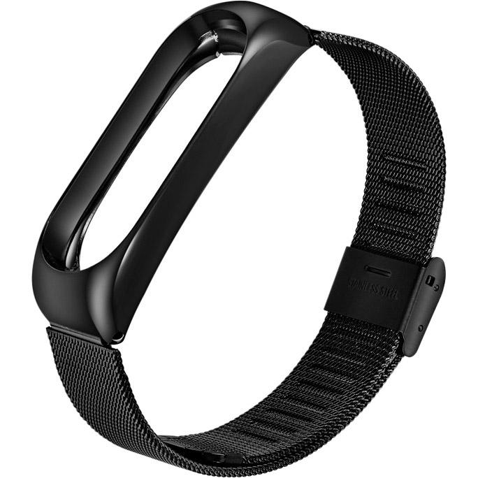 Браслет BECOVER Metal для Xiaomi Mi Smart Band 5 Black (705146)