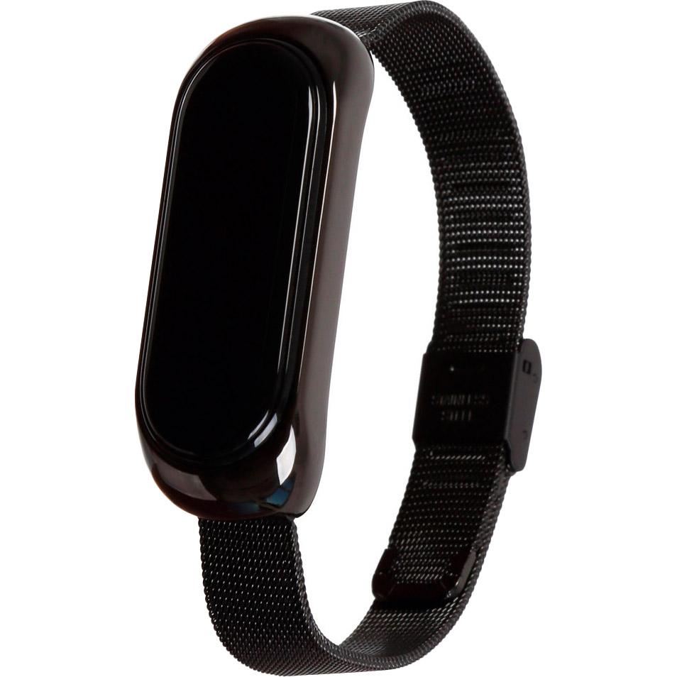 Браслет BECOVER Metal для Xiaomi Mi Smart Band 5 Black (705146) Тип браслет