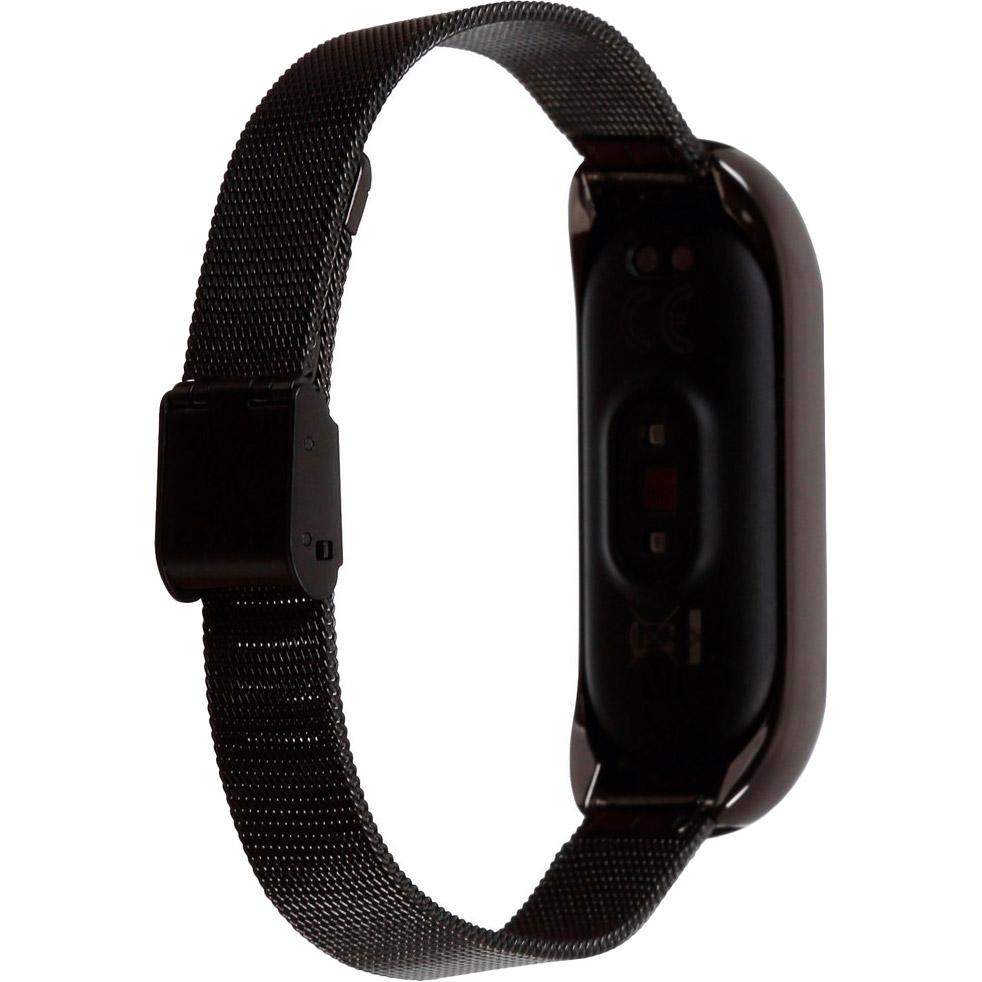 Браслет BECOVER Metal для Xiaomi Mi Smart Band 5 Black (705146) Сумісність Xiaomi Mi Band 5