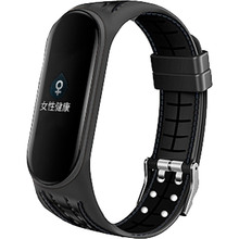 Ремінець BECOVER Lattice Style для Xiaomi Mi Smart Band 5 Black (705158)