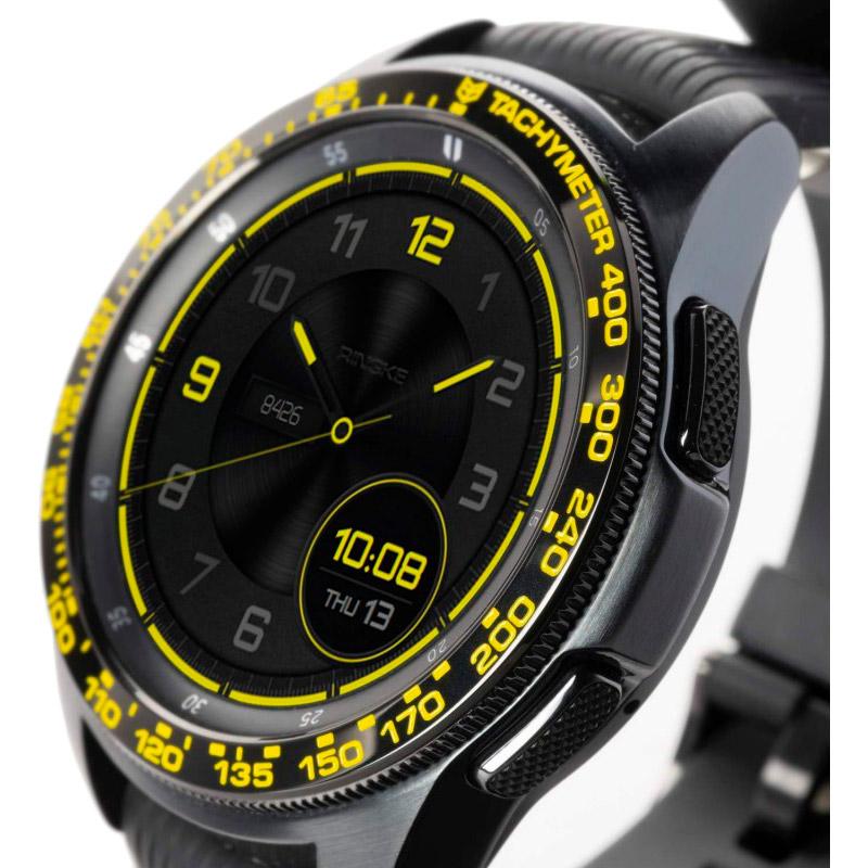 Защитная накладка RINGKE Samsung Galaxy Watch 42mm/Galaxy Sport Black/Yellow (RCW4755) Тип защитная накладка