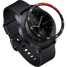 Защитная накладка RINGKE Samsung Galaxy Watch 42mm/Galaxy Sport Black/Red (RCW4758)