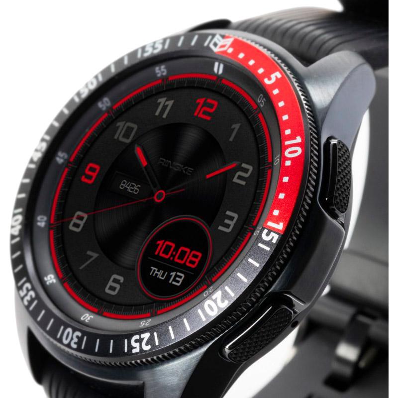 Захисна накладка RINGKE Samsung Galaxy Watch 42mm/Galaxy Sport Black/Red (RCW4758) Тип захисна накладка