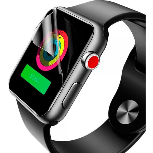 Защитная пленка XOKO DEVIA Premium Apple Watch Series 1,2,3 - 42 mm 2 шт (DV-GDR-APL-WS1-42M)