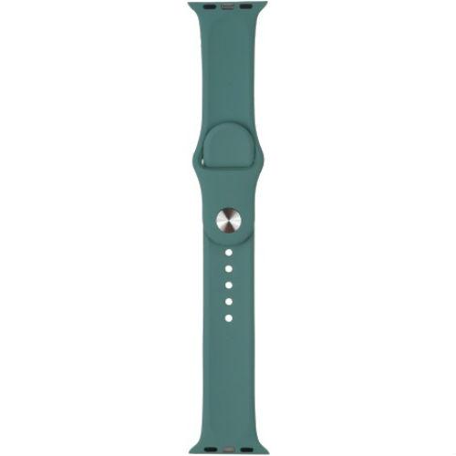 Ремінець TPU Armorstandart Sport 2 розміру для Apple Watch 38 мм 40 мм Pine Green (ARM56844) Тип ремінець