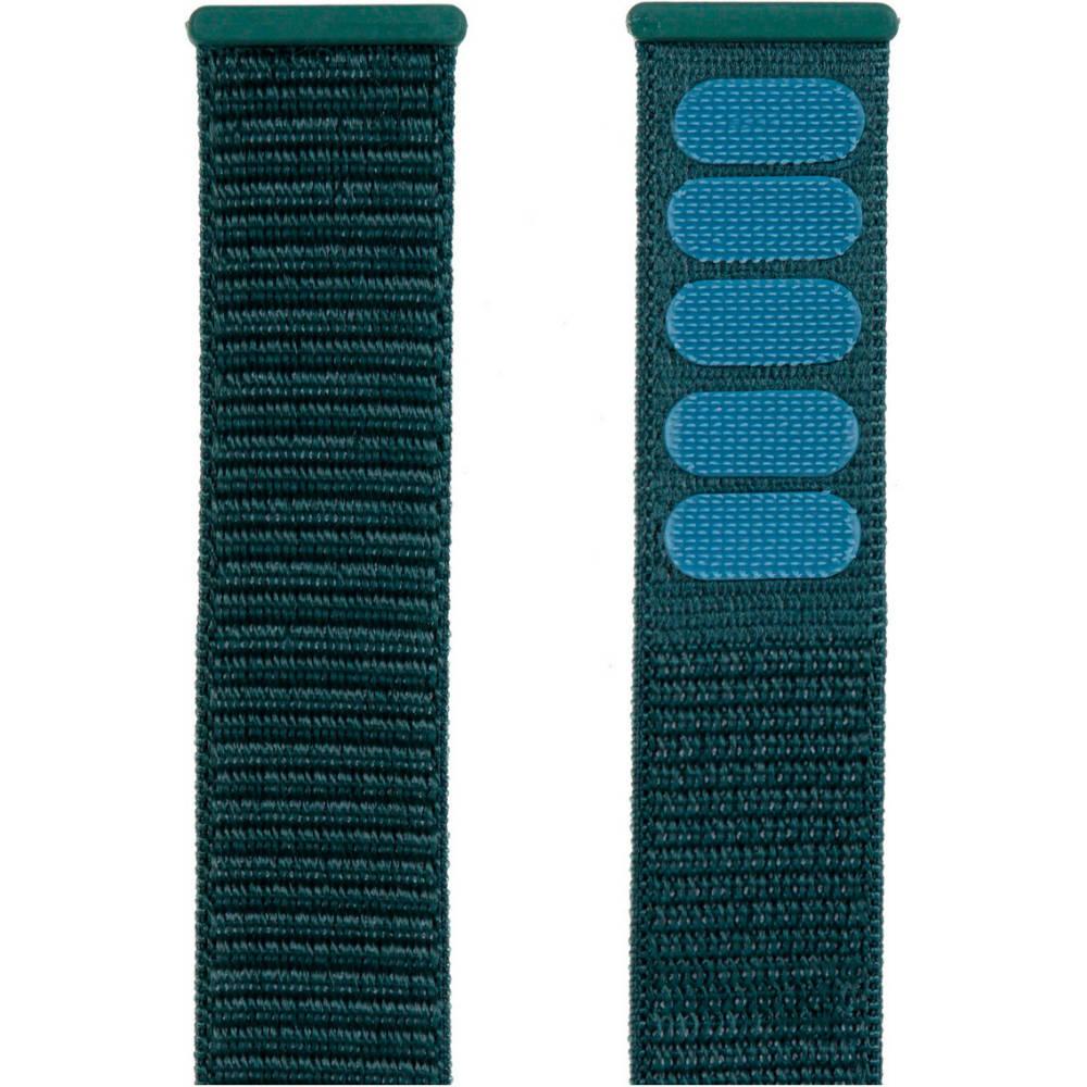 Ремінець Armorstandart Nylon Band для Apple Watch All Series 38 40 мм Pine Green (ARM56842) Тип ремінець