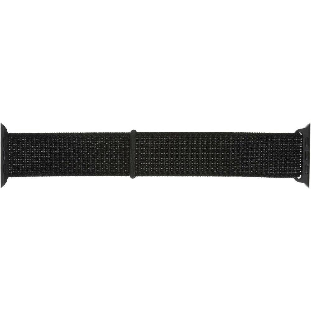 Ремінець Armorstandart Nylon Band для Apple Watch 38 40 мм Reflective Black (ARM57847) Сумісність Apple Watch